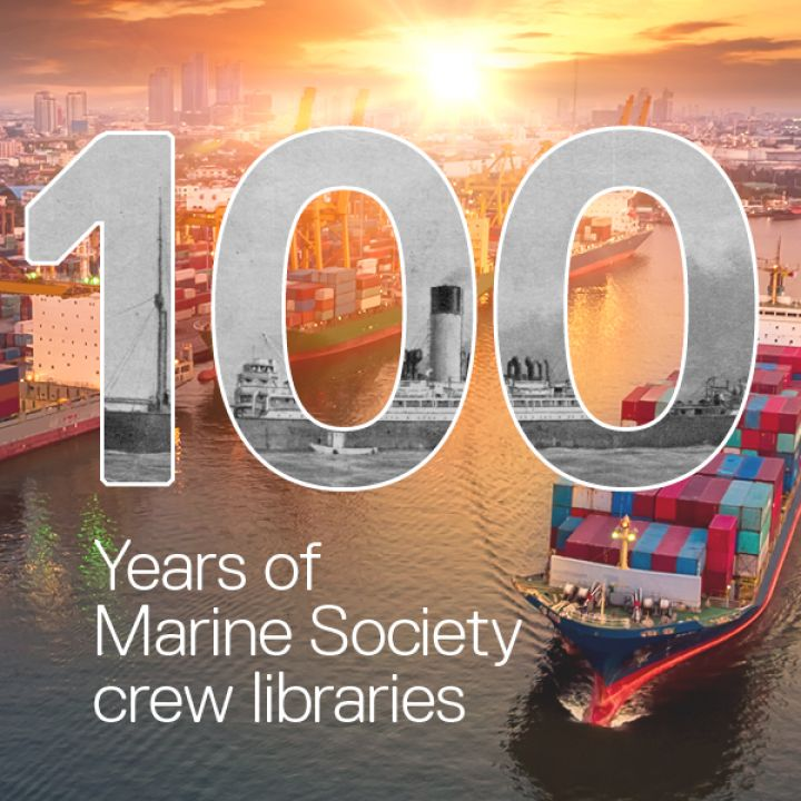 100 years of Marine Society crew libraries